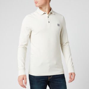 BOSS Men's Passerby Polo Shirt - Light Beige
