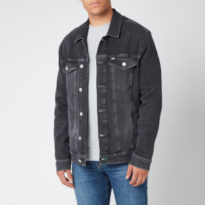 Tommy Jeans Men's Regular Trucker Jacket - Grey Comfort