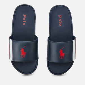 Polo Ralph Lauren Kids' Bensley II Slide Sandals - Navy