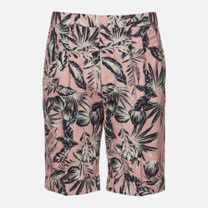 Superdry Men's Edit Pleat Chino Short - Pink Palm