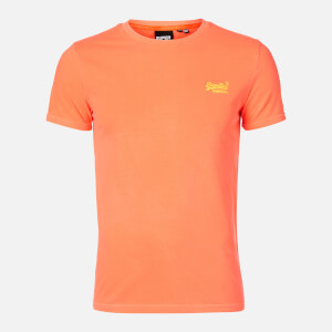 Superdry Men's Neon Lite T-Shirt - Volcanic Orange