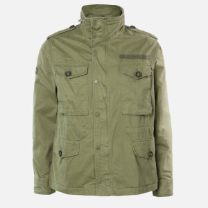 Superdry Men's Field Jacket - Fatigue Green