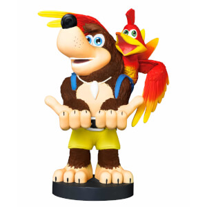 Banjo Kazooie 8 Inch Collectable Cable Guy Controller and Smartphone Stand