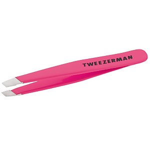 Tweezerman Mini Slant Tweezer Neon Pink