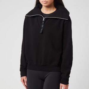 Reebok X Victoria Beckham Women's Cropped Cowl Sweatshirt - Black