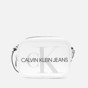 Calvin Klein Jeans Women's Sculpted Camera Bag - White
