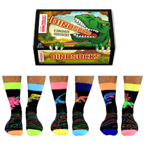 United Oddsocks Men's Dinosocks Socks Gift Set