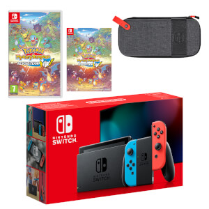 Nintendo Switch (Neon Blue/Neon Red) Pokémon Mystery Dungeon: Rescue Team DX Pack