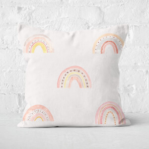 Rainbows Square Cushion