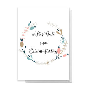Alles Gute Zum Stiefmuttertag Greetings Card