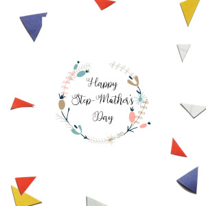 Happy Step-Mother's Day Greetings Card
