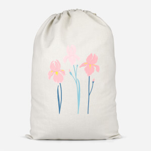 Trio Flower Cotton Storage Bag
