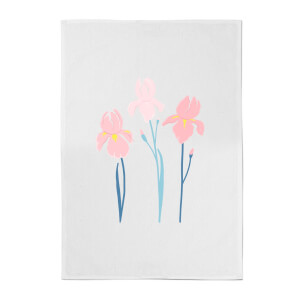Trio Flower Cotton Tea Towel