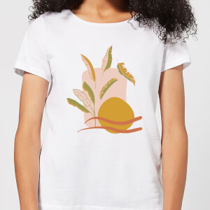 Abstract Holiday Art Women's T-Shirt - White