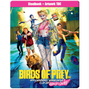 Birds Of Prey - Limited Edition 4K Ultra HD Steelbook (Includes 2D Blu-ray)