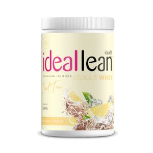 IdealFit Clear Whey Protein - Iced Tea - 20 Servings