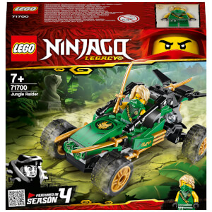 LEGO NINJAGO: Legacy Jungle Raider Building Set (71700)