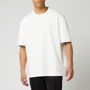 Maison Margiela Men's Heavy Cotton Jersey T-Shirt - Off White