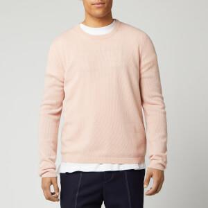 Maison Margiela Men's 12 Gauge Chain Stitch Knitted Jumper - Pink