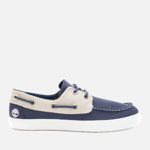 Timberland Men's Union Wharf Canvas 2 Eye Boat Shoes - Navy