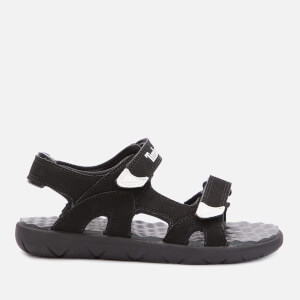 Timberland Kids' Perkins Row 2-Strap Sandals - Black