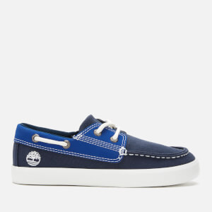 Timberland Kids' Newport Bay Boat Shoes - Black Iris
