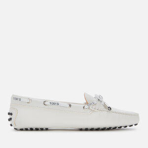Tod's Women's Heaven Driving Shoes - White