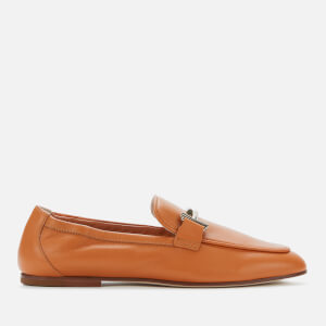 Tod's Women's Leather Loafers - Tan