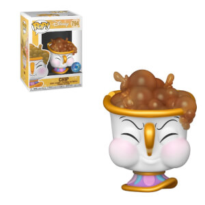 PIAB EXC Disney Beauty and the Beast Chip with Bubbles Funko Pop! Vinyl