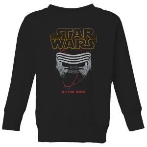 Star Wars Kylo Helmet Kids' Sweatshirt - Black