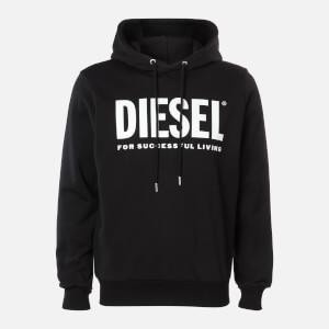 Diesel Men's Division Logo Hoody - Black