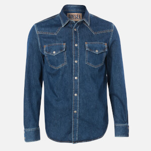 Diesel Men's East Denim Shirt - Total Eclipse