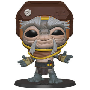 Star Wars The Rise of Skywalker Babu Frik Funko Pop Vinyl 10""