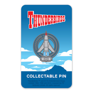 Thunderbirds Enamel Pin Badge 1