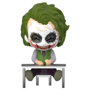 Hot Toys Batman: Dark Knight Trilogy Cosbaby Mini Figure Joker (Laughing Version) 12cm