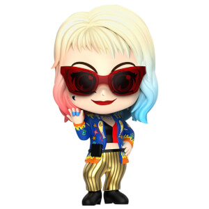 Hot Toys Birds of Prey Cosbaby Mini Figure Harley Quinn (Getaway Look Version) 11cm
