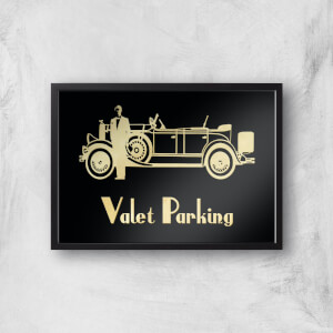 Valet Parking Giclee Art Print