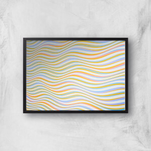 Psychedelic Waves Giclee Art Print
