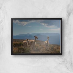 Mountain Explorers Giclee Art Print