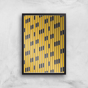 Straight Lines Giclee Art Print