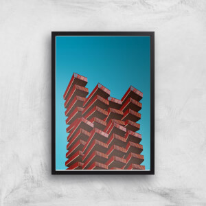 Building Blocks Giclee Art Print