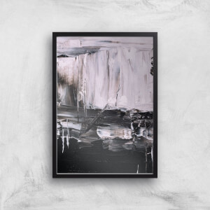 Monochrome Mess Giclee Art Print
