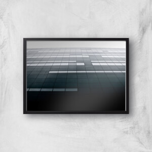 Square Windows Giclee Art Print