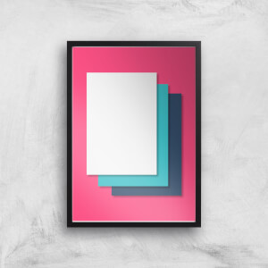I'm Layered Giclee Art Print