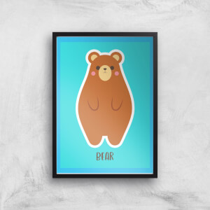 This Is A Bear Giclee Art Print