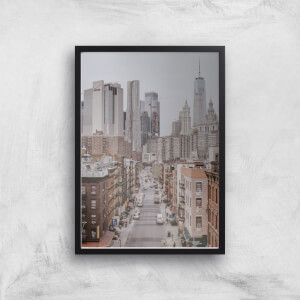 New York City Giclee Art Print