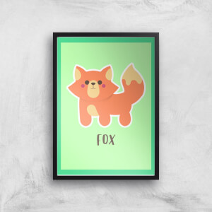 This Is A Fox Giclee Art Print