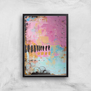 Abstract Cupcake Giclee Art Print