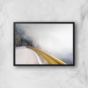 A Road Less Traveled Giclee Art Print