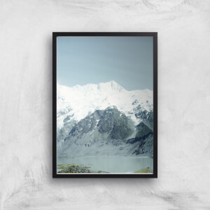 Snowy Mountains Giclee Art Print